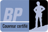 certified roofer logo french