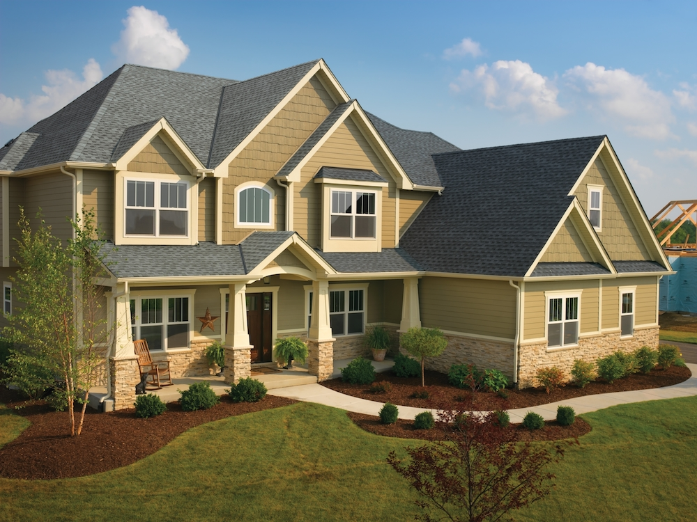 GAF Timberline HD Pewter Gray Hous